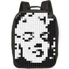 Пиксельный <b>рюкзак</b> с большой панелью <b>Canvas Classic Pixel</b> ...