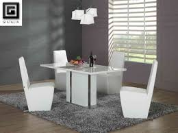 Modern White Dining Room Set Inspiration Modern White Dining Table Set Coolest Dining Room