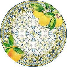 <b>Тарелка закусочная Easy</b> Life Капри, EL-R0944/CAPL, диаметр ...