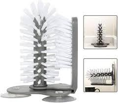 PAWACA Glass Washer with Double Sided Bristle ... - Amazon.com