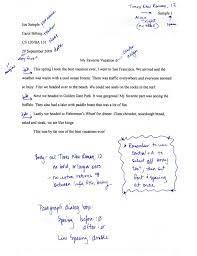 sample essay with thesis statement