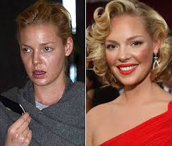 Image result for models before and after makeup
