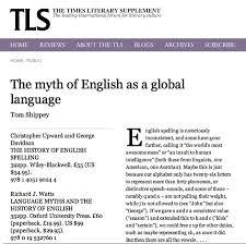 myth of a global language