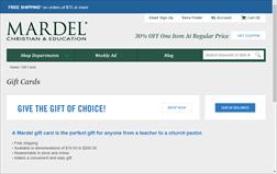 Mardel Christian & Education   Gift Card Balance Check   Balance ...