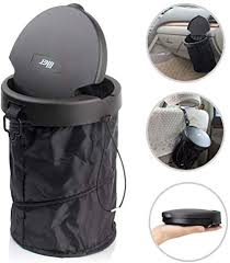 LILER Universal Traveling <b>Portable Car Trash Can</b> - Collapsible ...