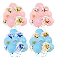 <b>10pcs It's a Boy</b> and It's a Girl Latex Balloons for Baby Shower Party ...