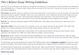 write a this i believe essay custom paper help write a this i believe essay