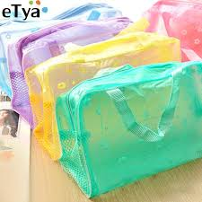Online Shop eTya Women <b>Clear</b> PVC Luggage Organizer Packing ...