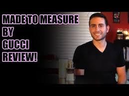 <b>Made To Measure</b> by <b>Gucci</b> Fragrance / Cologne Review - YouTube