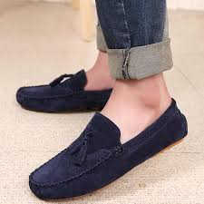 Loveontop <b>2019</b> New <b>Men Loafers Moccasins</b> Casual Leather ...