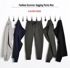 <b>New 2018</b> Men <b>Casual</b> Pants Slim Fit Drawstring Mens Joggers ...