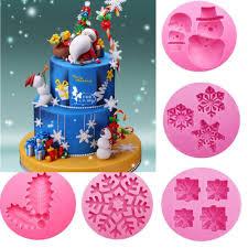 <b>Christmas Snowman Shape</b> silicone mold Cake Chocolate Mold ...