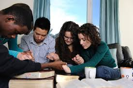 Image result for people reading bible together images