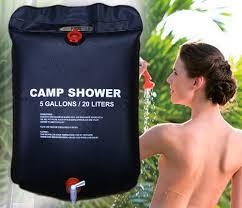 Outdoor Hiking <b>Camping Solar Heated Shower</b> Bathing Bag <b>Shower</b> ...