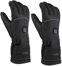 Thermal Heat Gloves KOqwez33 <b>Winter Electric Heated</b> Gloves ...