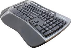 Следуя изгибам... Клавитура <b>Microsoft Natural Ergonomic</b> ...
