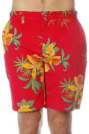 Купить <b>шорты Obey Working</b> Man Ii Short Hawaiian Red в ...