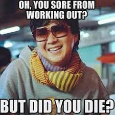 Funny Fitness Stuffs on Pinterest   Legs Day, Gym Humor and Burpees via Relatably.com