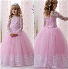 <b>2019 Vestidos Primera Comunion</b> Ball Gown Flower Girl Dress Lace ...