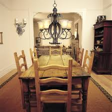 Pine Dining Room Chairs Pine Rustic Cottage Cabin Dining Room Wooden Table And Chairs Pine