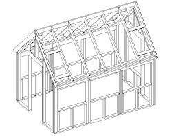 The Wood Frame Green House Plans   Free House Plan ReviewsAffordable Wood Frame Green House Plans