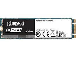 <b>Kingston A1000 M</b>.<b>2</b> 2280 <b>960GB</b> PCI-Express 3.0 x2 3D TLC ...