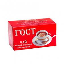 """<b>Чай Тот Самый</b> """"ГОСТ"""", <b>чёрный</b> листовой, 100 гр купить по ..."""