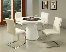 room ergonomic furniture chairs: cool interior room design with round white table also best comfortable dining chairs