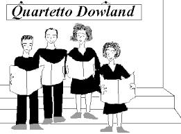 """Da sinistra: Luca Schianchi, Fabrizio Fava, Paola Mangiarotti, Milena Torelli """"ritratti"""" durante la loro prima esibizione. - qd_bw"""