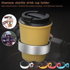 Bicycle Coffee Cup Holder MTB Road <b>Bike Bottle Rack Aluminum</b> ...