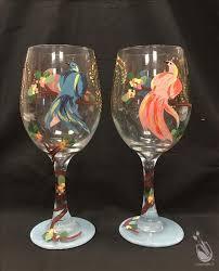 <b>Spring Birds Glassware</b> Set - Wednesday, April 28, 2021 - <b>Painting</b> ...