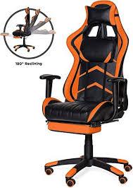 Buy Best Choice Products Ergonomic Swivel <b>Reclining Office</b> ...