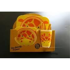 Shop <b>5PCS</b> Portable Kids & Baby <b>Cute Cartoon</b> Food Tableware Set ...