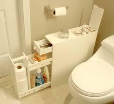 bathroom space savers bathtub storage: clever cabinet for a small bathroom