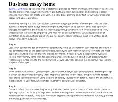 essays about business business essays samples business admission essay samples at