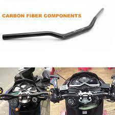 Motorcycle Modified <b>22mm Carbon Fiber Handlebar</b> Handle for ...
