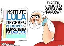 Resultado de imagem para lula e a policia federal charge