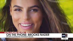 Brooks Nader describes being selected for SI Swimsuit - YouTube