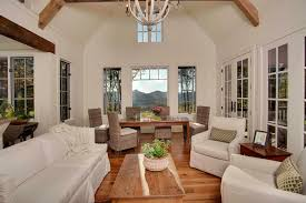 beautiful living living room rock mountain cottage living room and dining room vaulted ceilings echo the mountain beautiful living room pillar