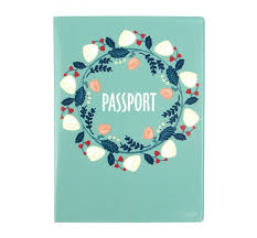 <b>Kawaii Factory Обложка</b> для паспорта Цветочная гирлянда ...