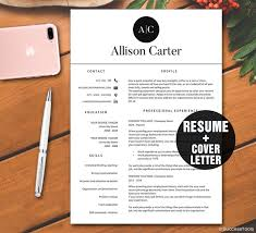 resume template instant downloadcv template resume template for word mac pc download resume template