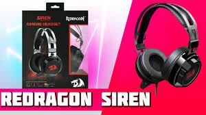 <b>Наушники Redragon Siren</b> (Обзор, Тест, Распаковка) - YouTube