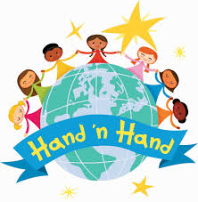 Children hand-in-hand