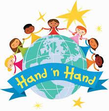 Children hand-in-hand