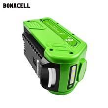 Сменная литиевая <b>батарея</b> 6,0 Ач для <b>GreenWorks</b> 29472 29462 ...