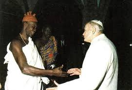 Image result for John paul II and the devil, images