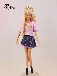 Online Shop 5 <b>piece</b> / <b>lot</b> New <b>High quality</b> clothing doll dress ...