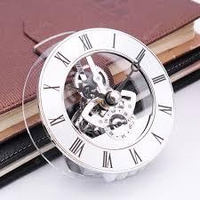 Metal Clock Silver Clocks Sale, Price & Reviews| Gearbest Mobile