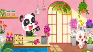 Little Panda's <b>Fashion Flower</b> DIY P1 - Play and Learn Flowers ...