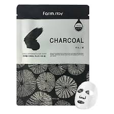 <b>FarmStay Тканевая маска для</b> лица с углем, 23мл - купить, цена и ...